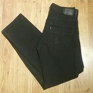 New Black Levi's 511 Skinny 29